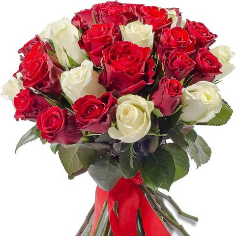 Букет 35 роз Bright Kenya