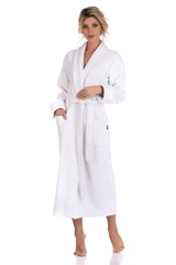 PAOLA 920 белый  женский махровый халат   PECHE MONNAIE Россия