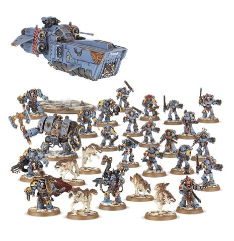 SPACE WOLVES IRONCLAW STRIKE FORCE
