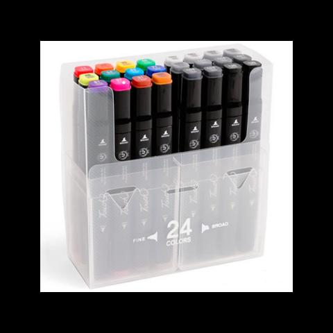 Набор маркеров Touch Twin, 24 цвета