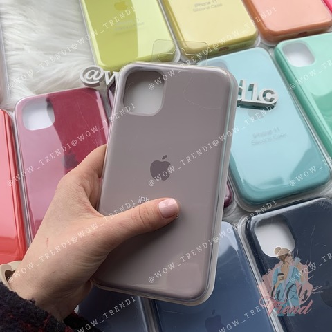 Чехол iPhone 11 Pro Silicone Case Full /lavender/