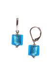 Серьги Perla Cubо Aqua (голубые)
