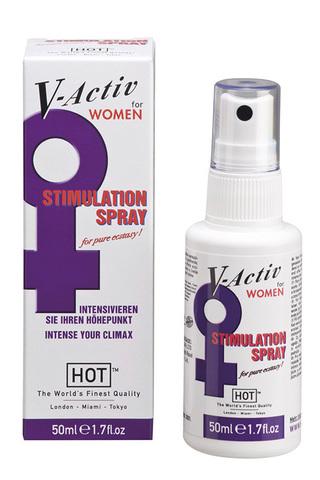 V-Active стимулирующий спрей для женщин 50мл фото