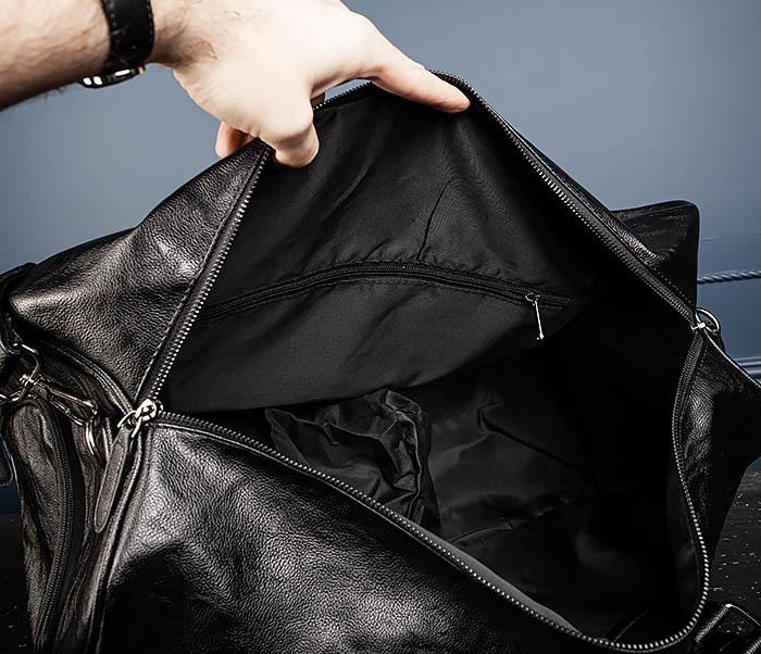 BAG551 Вместительная мужская дорожная сумка фото 13