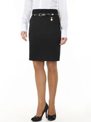 5689-1 юбка женская, черная