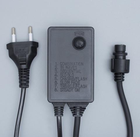 Контроллер для светодиодного занавеса черный