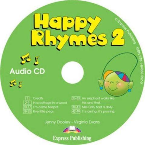 Happy Rhymes 2. Audio CD. Аудио CD