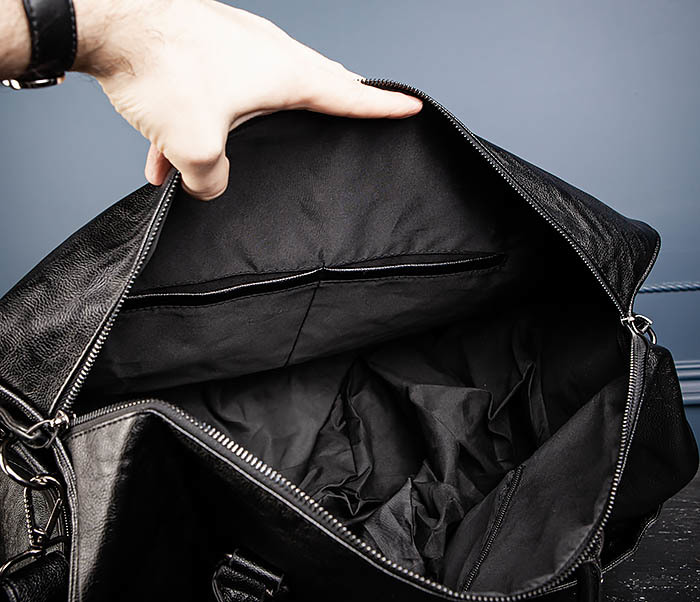 BAG551 Вместительная мужская дорожная сумка фото 14