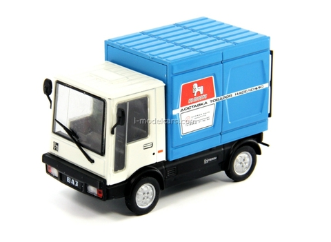 VAZ-2802 Pony white-blue 1:43 DeAgostini Auto Legends USSR #140