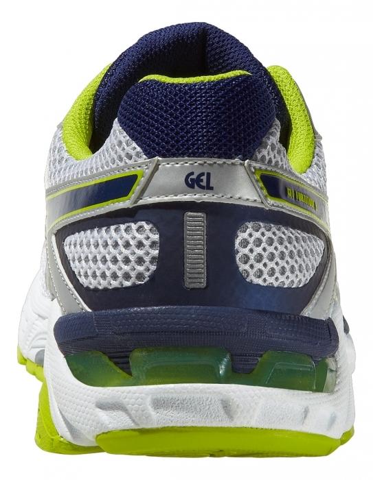 Мужские беговые кроссовки Asics Gel-Fortitude 6 (2E) (T2B0N 0152) белые фото пятка