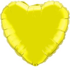 F 4 Сердца Золото / 5 шт. /