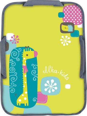 Ледянка мягкая прямоугольная с рисунком Ника ЛПР4054  с жирафом 40х54см