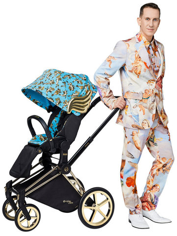 Коляска 3 в 1 Cybex Priam III Jeremy Scott Cherubs