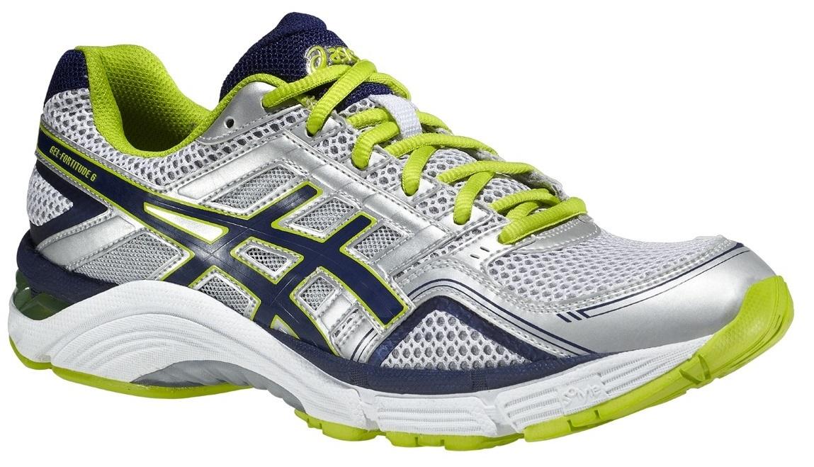 Мужские кроссовки для бега Asics Gel-Fortitude 6 (2E) (T2B0N 0152) белые