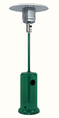 Уличный газовый обогреватель Мастер Лето (зеленый)