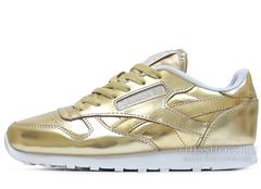 Кроссовки Женские Reebok Classic Leather Gold