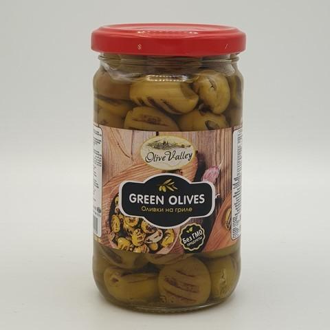 Оливки зеленые на гриле OLIVE VALLEY, 300 гр