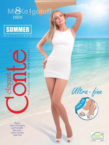 Колготки Conte Summer Open Toe 8