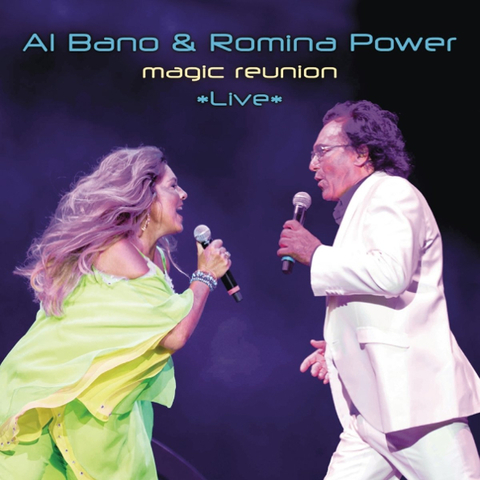 Al Bano & Romina Power ‎/ Magic Reunion Live (CD)