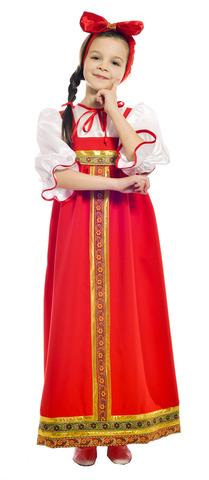 Костюм Барыня в красном сарафане