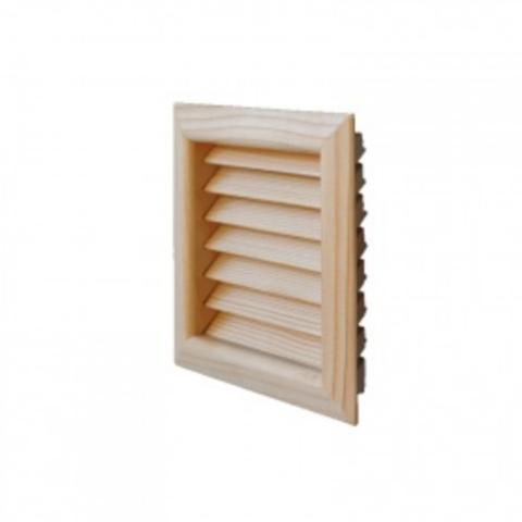 Деревянная решетка First LGES160P дугласова пихта 160х160