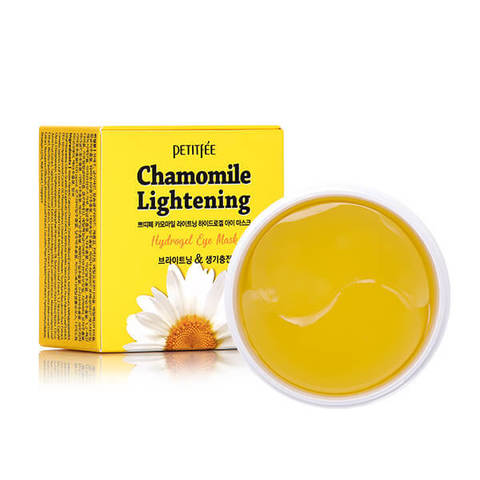 Купить Petitfee Chamomile Lightening Hydrogel Eye Mask