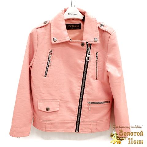 Куртка экокожа девочке (3-11) 200318-W1915.1