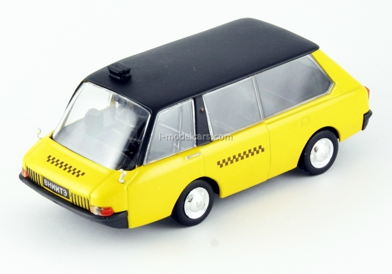 VNIITE-PT yellow 1:43 DeAgostini Auto Legends USSR #88