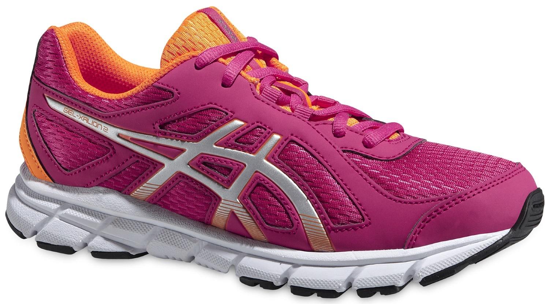 Детские беговые кроссовки для девочек Asics Gel Xalion 2 GS (C439N 2093) розовые фото