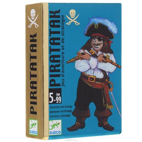 Djeco. Настольная карточная игра Пират