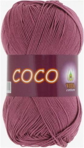 Пряжа Coco (Vita cotton) 4326 дымчато-розовый
