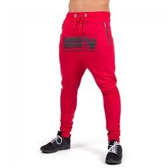 Брюки Gorilla wear Alabama Drop Crotch Joggers - Red