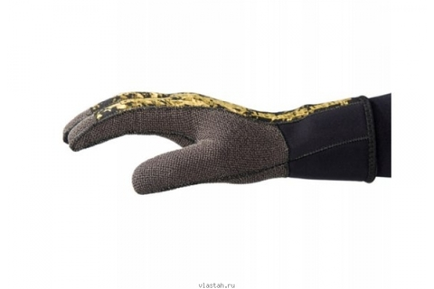 Перчатки для подводной охоты с кевларовой ладонью SARGAN Неман RD2.0 5 мм