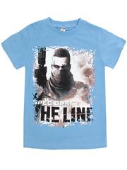 BK003-23 футболка детская, голубая