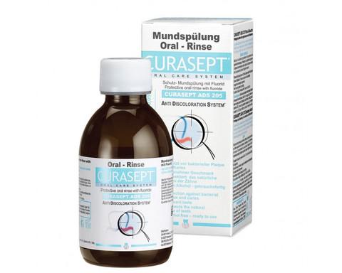 Ополаскиватель Curasept 0,05% хлоргексидин и 0,05% фторид / CURAPROX ADS 205, 200мл