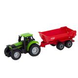 Siku. Игрушечная модель трактор с прицепом-самосвалом. 1:87