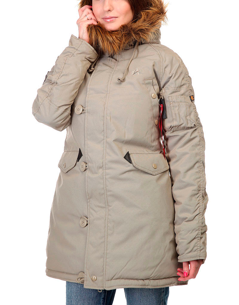 Куртка Аляска Женская - Explorer (хаки - khaki)