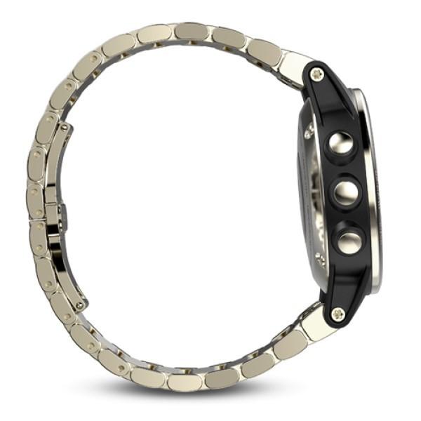 Fenix 5S Sapphire золотистые с металлическим ремешком