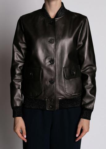 <p>Куртка кожаная</p> PESERICO