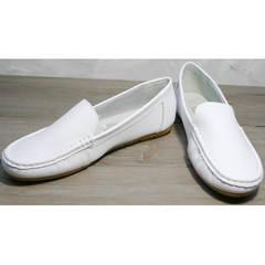 Мокасины под платье AESD 902 White