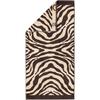 Полотенце 80х150 Cawo Zebra 562 коричневое