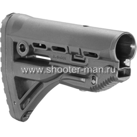 ПРИКЛАД ДЛЯ M4/M16/АК/САЙГА FAB-DEFENSE GL-SHOCK