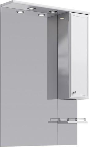 Барселона панель с зеркалом,  шкафчиком и подсветкой Ba.02.07,