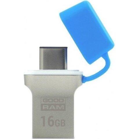 Накопитель GoodRAM ODD3 Type-C 16GB USB 3.0 Blue (ODD3-0160B0R11)