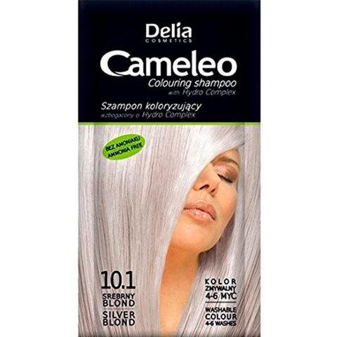 Delia Cosmetics Cameleo Оттеночный шампунь тон 10.1 серебристый блондин (саше 40мл)