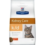 Hill`s Prescription Diet K/D Kidney Care Сухой корм для кошек с заболеваниями почек, с тунцом 1,5 кг. (11142)
