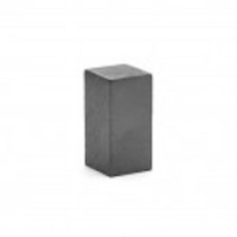 Магнит 7.8х7.8х16 мм, феррит, блок
