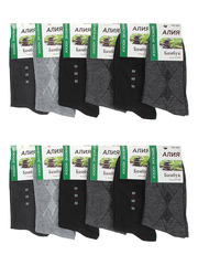 A26 носки мужские, цветные 41-48 (12шт)