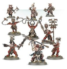 Khorne Bloodbound Frenzied Wartribe