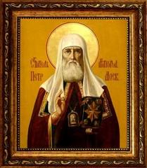 Петр Митрополит Московский Святитель. Икона на холсте